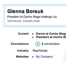Glenna Borsuk LinkedIn Profile