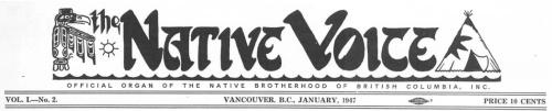 Native Voice banner