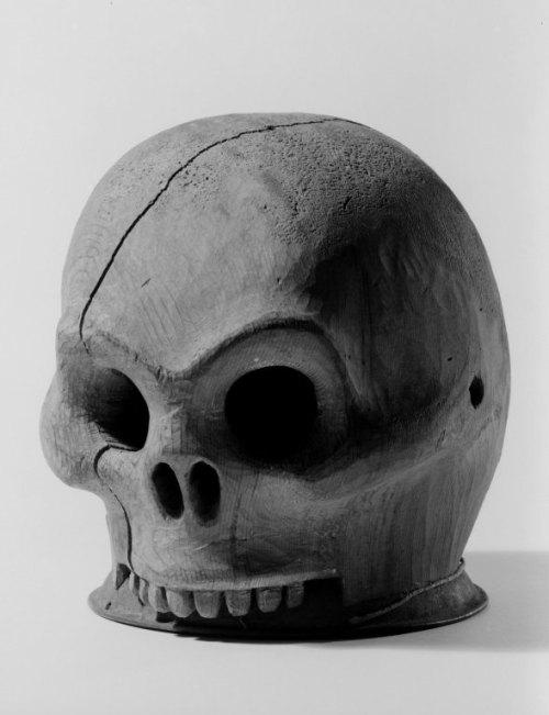 """Tsimshian Skull """"Helmet"""".  Click for higher resolution."""