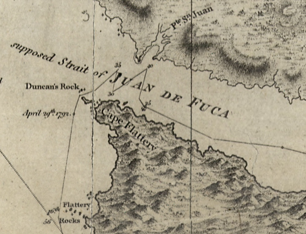 Historic Maps and Dioramas of Victoria and Environs – Map Detail