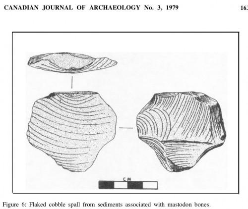 Gstafson 1979 Manis Mastodon spall tool