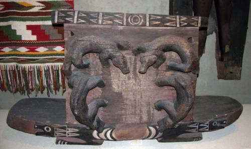 Musqueam box with fishers. Via Don's Maps.