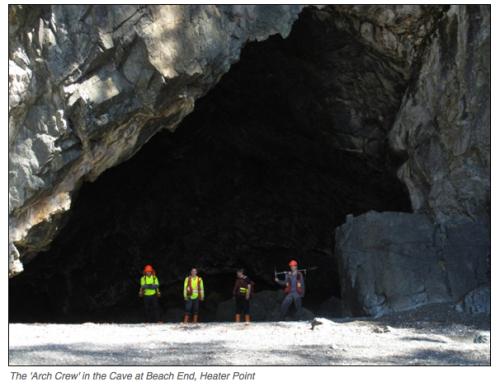 Quatsino - Cave at Heater Point. Source: bcmarinetrails.org