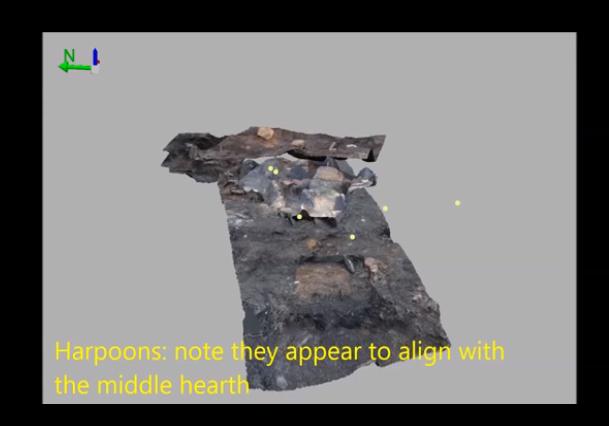 Millennia hearth model screenshot.