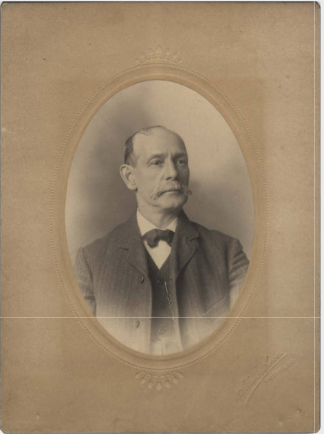 Portrait of Frank Sylvester, ca. 1880.  Source: UVIC http://goo.gl/AonN8H