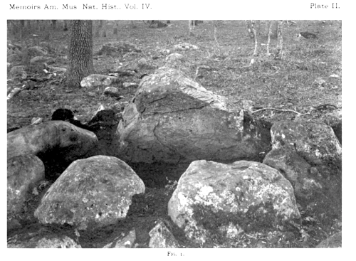 Cyst in Cairn No.2, Cadboro Bay,nearVictoria,B.C. Smith and Fowke 1901.