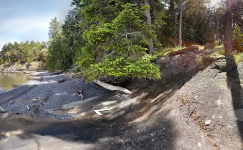 Hw'e'itun on Google Street View. Source: screenshot. Click to go to full page.