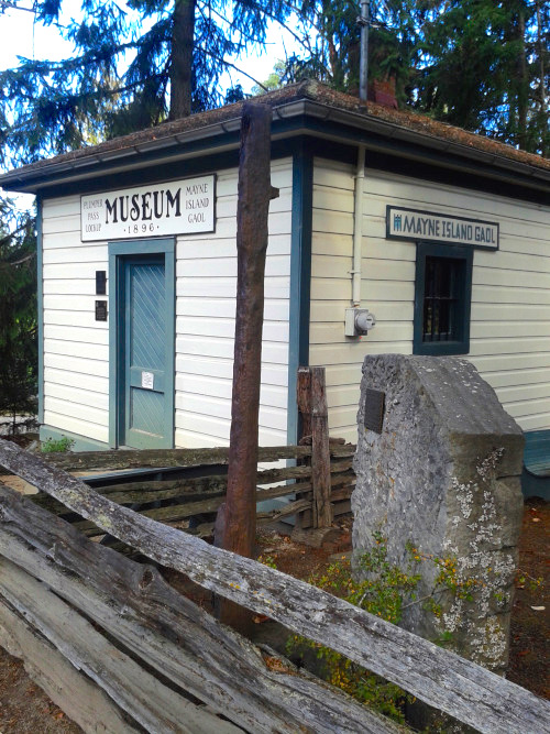 Mayne Island Museum and Gaol. Source: tumblr