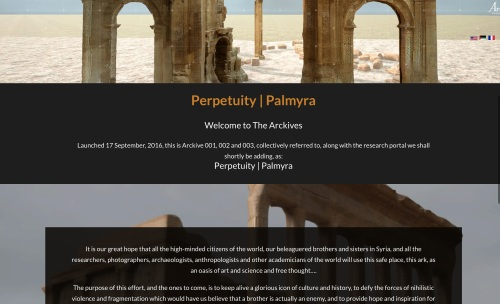 Home page of the Palmyra Arckive http://the-arckives.org