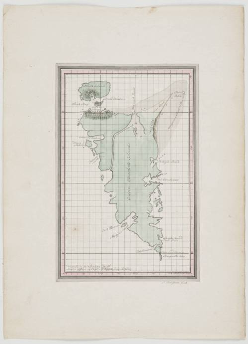 """Haida Gwaii """"1800-ish"""" map."""